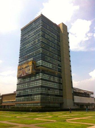 Ciudad Universitaria: Torre de Rectoría