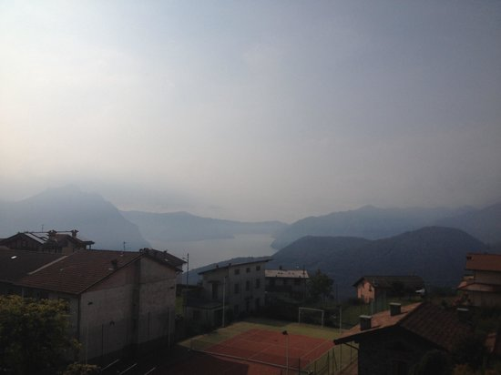 Hotel Miralago: Vista lago dal balcone