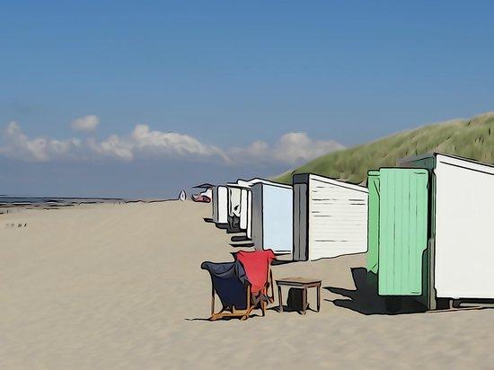 Stayokay Domburg: beach at 10 min walk