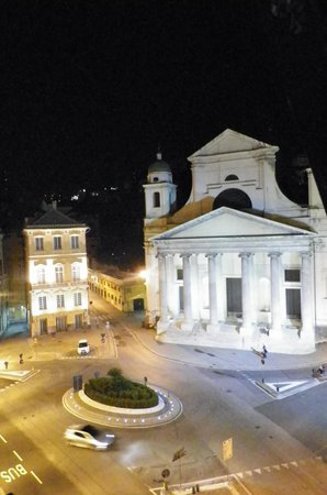 Hotel Helvetia : View from Room at night