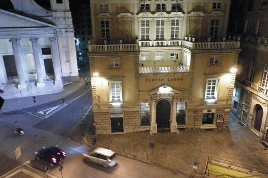 Hotel Helvetia: View From Room at night