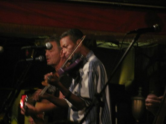 The Bowery: Best fiddler.....ever!  Great job, Phil!