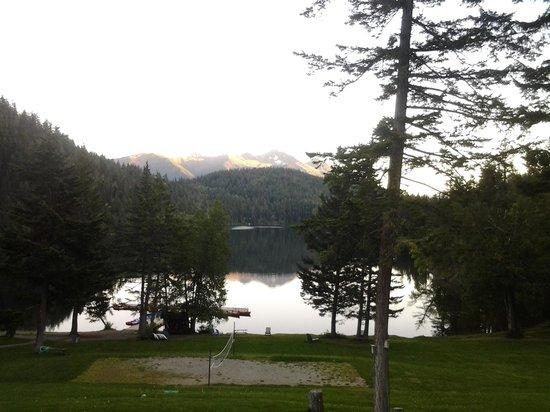 Tyax Lodge & Heliskiing: View from room