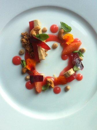 Den Femte Smak: Plomme og foie gras