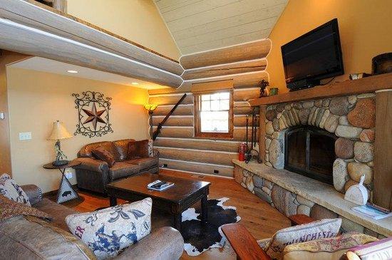 Powder Ridge Cabins: Living