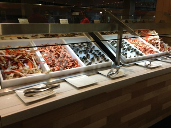 seafood picture of the buffet at aria las vegas tripadvisor rh tripadvisor com aria lunch buffet reviews aria lunch buffet coupon