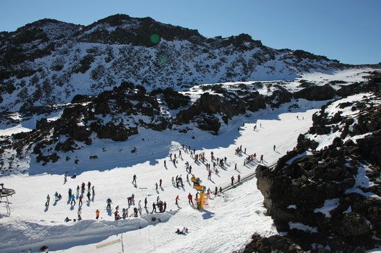 Whakapapa Ski Area - Mt Ruapehu: Happy Valley Ski Field