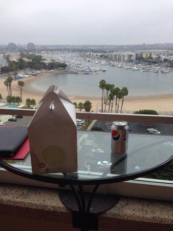 Marina del Rey Marriott: View