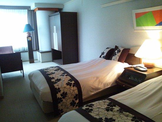 Northern Arc Resort : 寝室