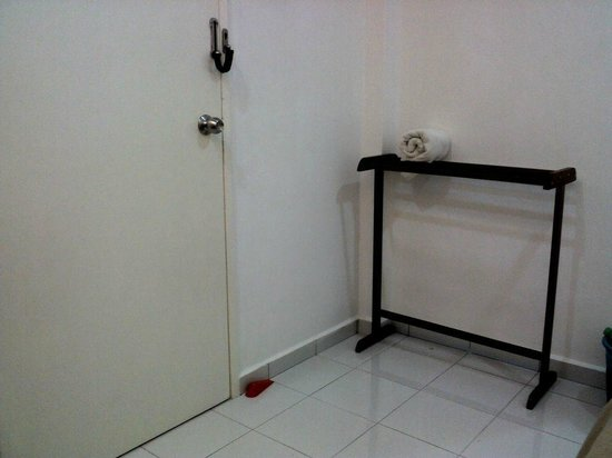 White Hotel: Door area