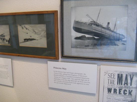 Trail of '98 Museum: The Wreck of the Princess May