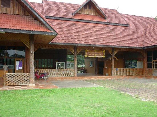 Maekok Golf Course : Clubhouse