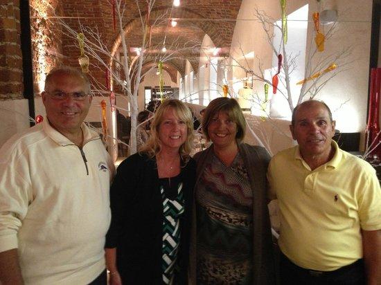 Le Quattro Stagioni d'Italia : Dinner with good friends