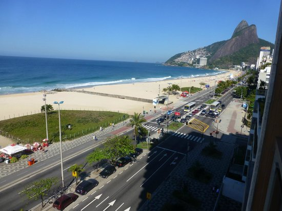 Praia Ipanema Hotel: Vista cuarto 2