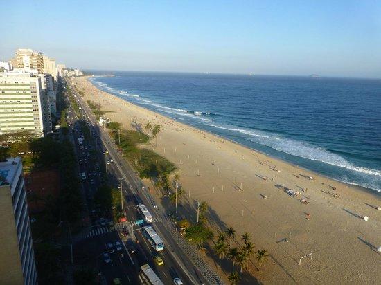 Praia Ipanema Hotel: Vista desde el cuarto