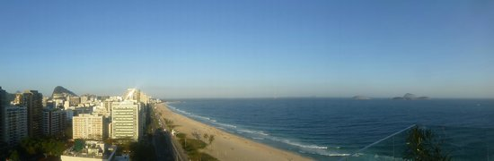 Praia Ipanema Hotel: Vista desde terraza