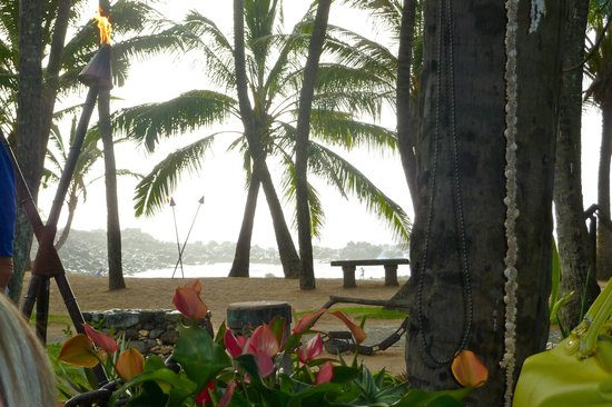 Mama's Fish House: View from our table