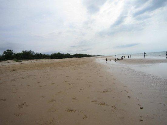 Lombang Beach: white beach