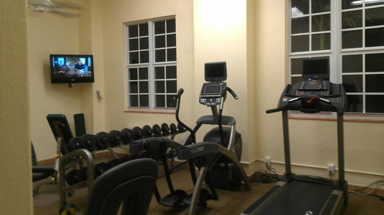 Riverside Hotel: Fitness Center