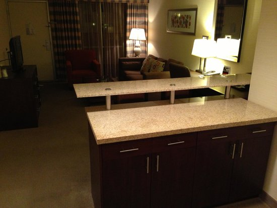 Holiday Inn Hotel and Conference Center Detroit - Livonia: A view of the living/kitchenette