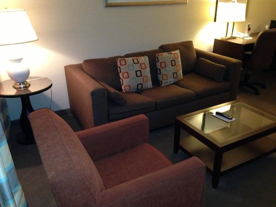 Holiday Inn Hotel and Conference Center Detroit - Livonia: living room area