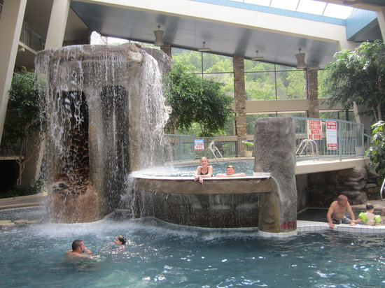 Cool pool Picture of Glenstone Lodge Gatlinburg TripAdvisor