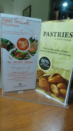 Kartika Chandra Hotel: their promos
