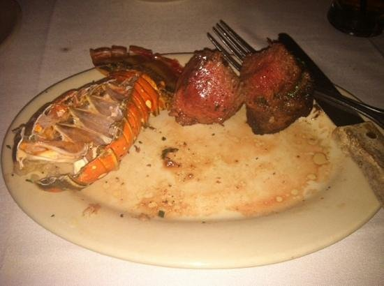 Tico's: Steak & Lobster... what was left. VERY GOOD