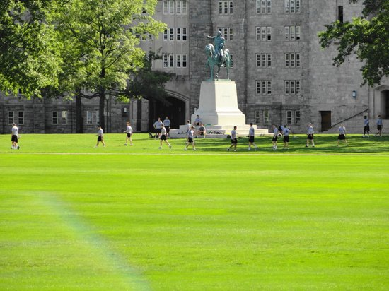 West Point Tours: Parade Ground