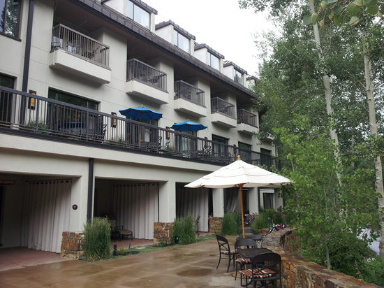 Hotel Talisa, Vail : from pool deck level