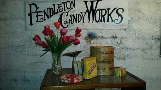 Pendleton Underground Tour: pendleton candy works