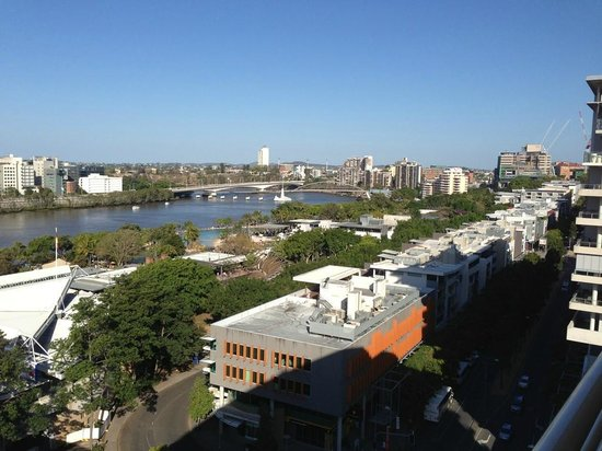 Rydges South Bank Brisbane: View from room (day)