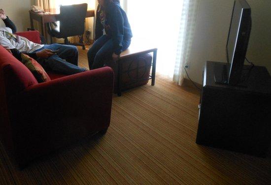 Residence Inn Denver Downtown: Living Space
