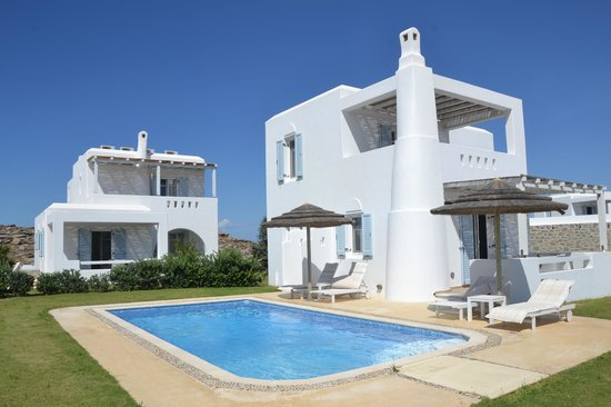 Naxian Collection: Luxury villa with private pool.