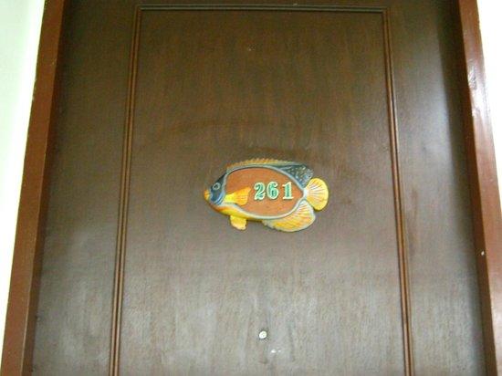 Access Resort & Villas: Front Door Room 261