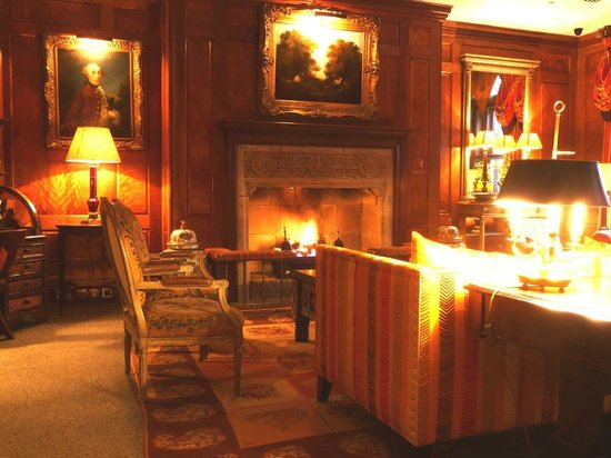 Covent Garden Hotel: Lounge area