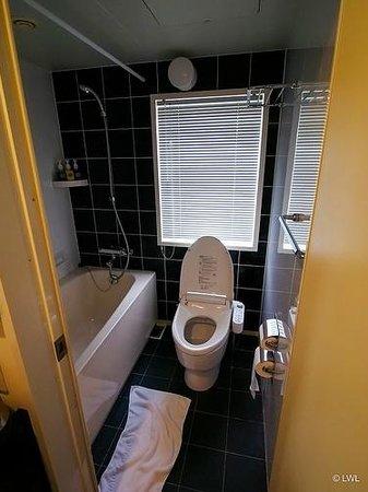 Furano Natulux Hotel: Bathroom