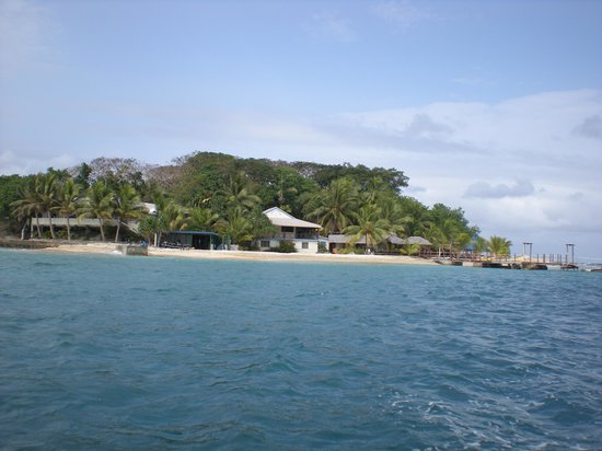 Hideaway Island Resort: from the ferry