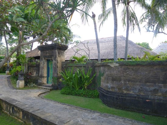 The Royal Beach Seminyak Bali - MGallery Collection: our villa from the outside