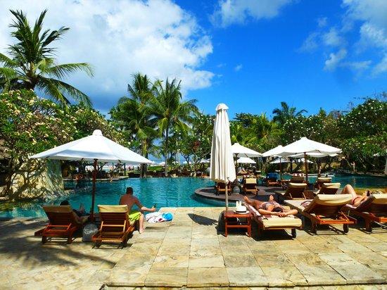 The Royal Beach Seminyak Bali - MGallery Collection: pool area - just beautiful