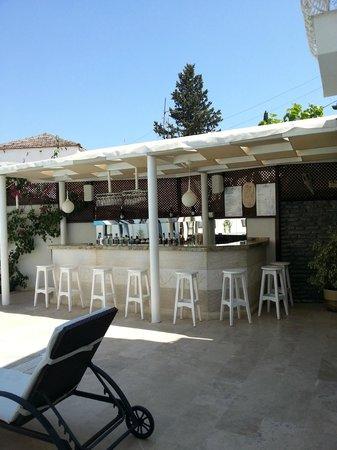 Asmin Hotel: Pool Bar