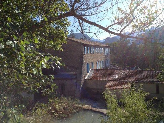 Moulin de la Salaou Hotel Restaurant: vue du bâtiment principal