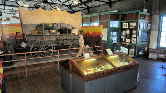 Historic Route 66 Museum: Displays