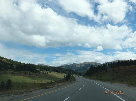 Tivoli Lodge: Heading from Denver to Vail.