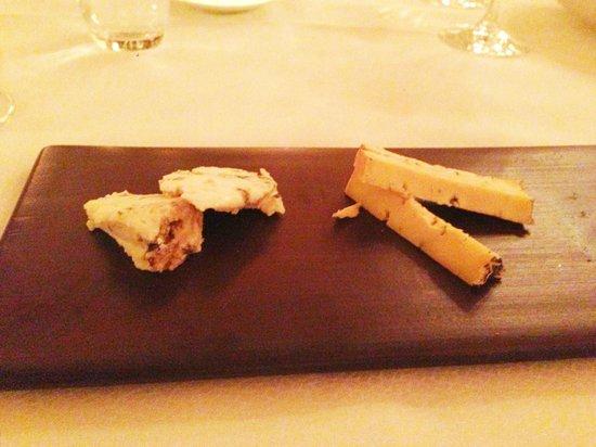 La Rive : Local blue cheeses platter