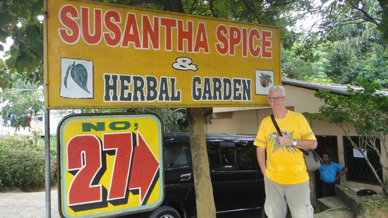 Susantha Spice and Herbal Garden: prefer to look around at my own pace