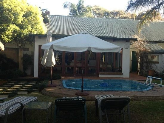 Natanja Guest House & Self-catering: the beautiful back garden