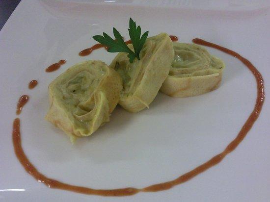 Hotel l'Ideale: Nidi di rondine agli asparagi... spettacolo per il palato