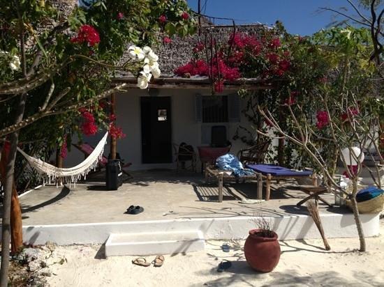 La Papaye Verte : un bungalow..