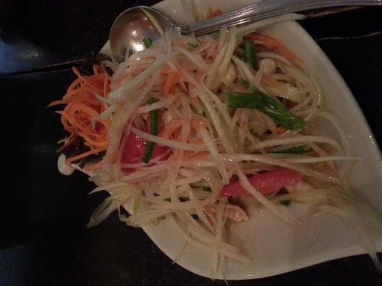 Lemongrass Thai Restaurant – Near Lamcy Plaza: Som Tam